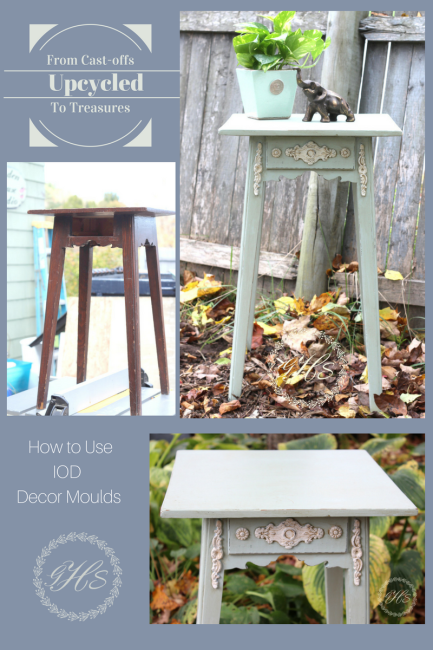 how to use IOD Decor Moulds