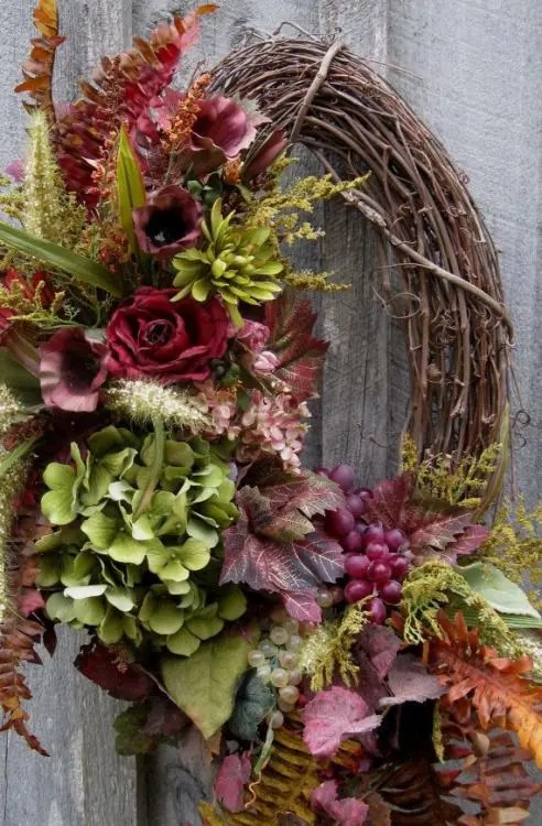 fall wreath round-up