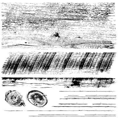 iod stamps barnwood planks