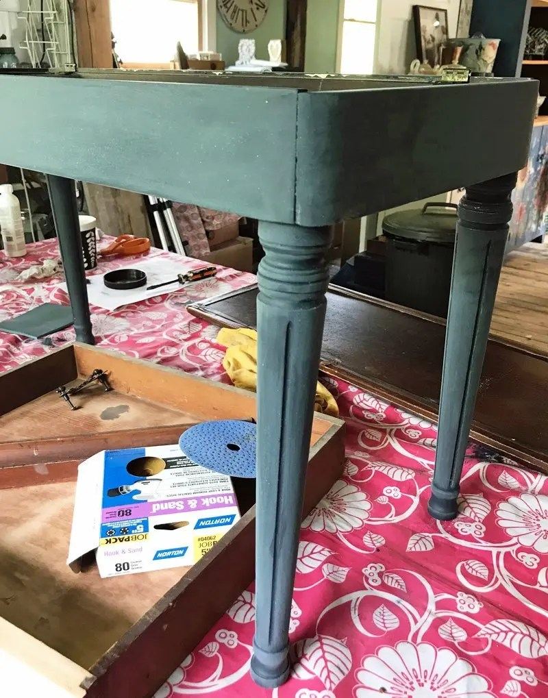 painting over chalk paint