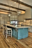 23+ Stunning Rustic Kitchen Island Ideas   Page 7 of 25