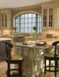 58+ Beautiful French Country Style Kitchen Decor Ideas