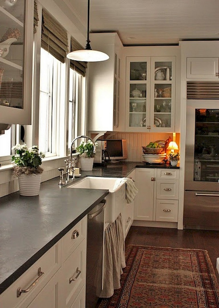 63+ Marvelous Modern Farmhouse Kitchen Cabinet and Countertops Ideas   Page 10 of 65