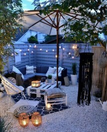 marvelous cozy patio design