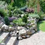 40 Beautiful Front Yard Rock Garden Landscaping Ideas (38)