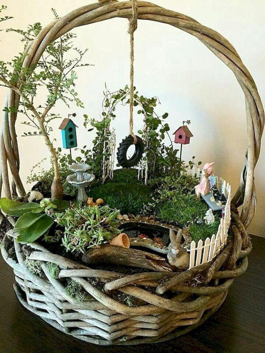 40 Beautiful Indoor Fairy Garden Ideas (24)