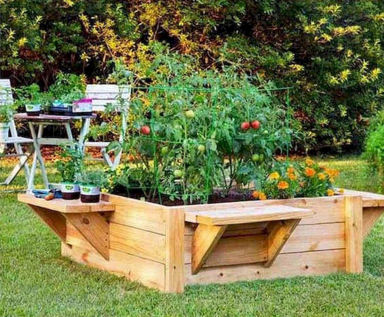 50 Inspiring Small Vegetable Garden Ideas (10)