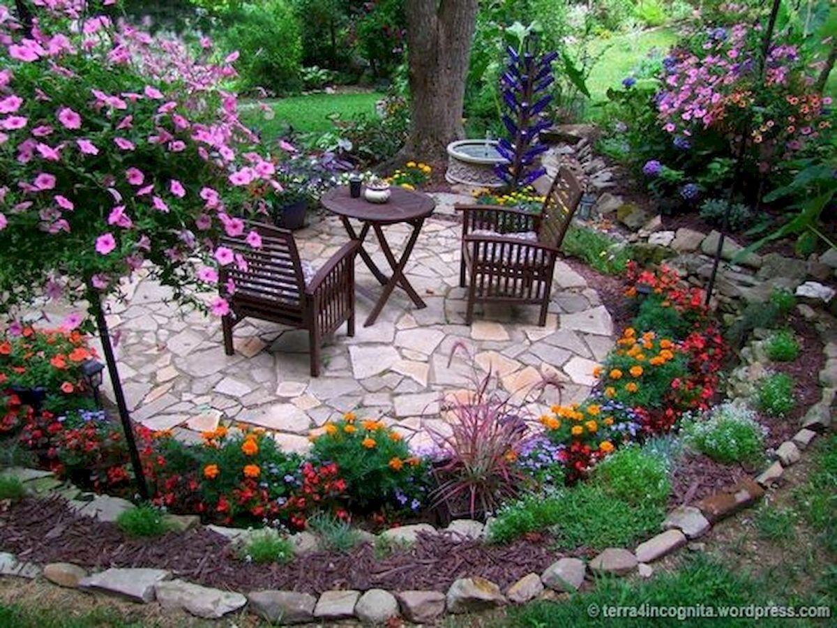 55 Beautiful Flower Garden Design Ideas (18)