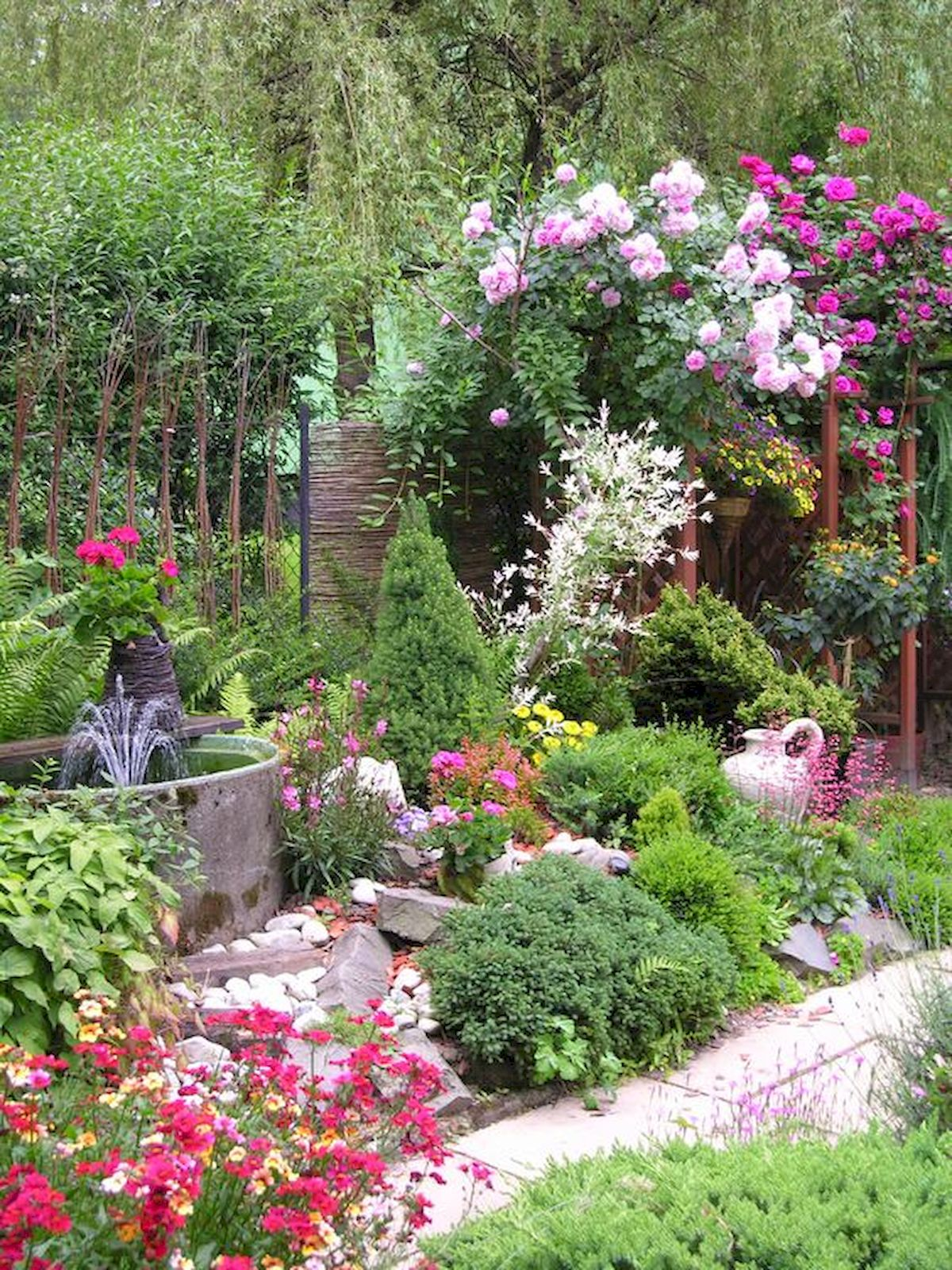 55 Beautiful Flower Garden Design Ideas (21)