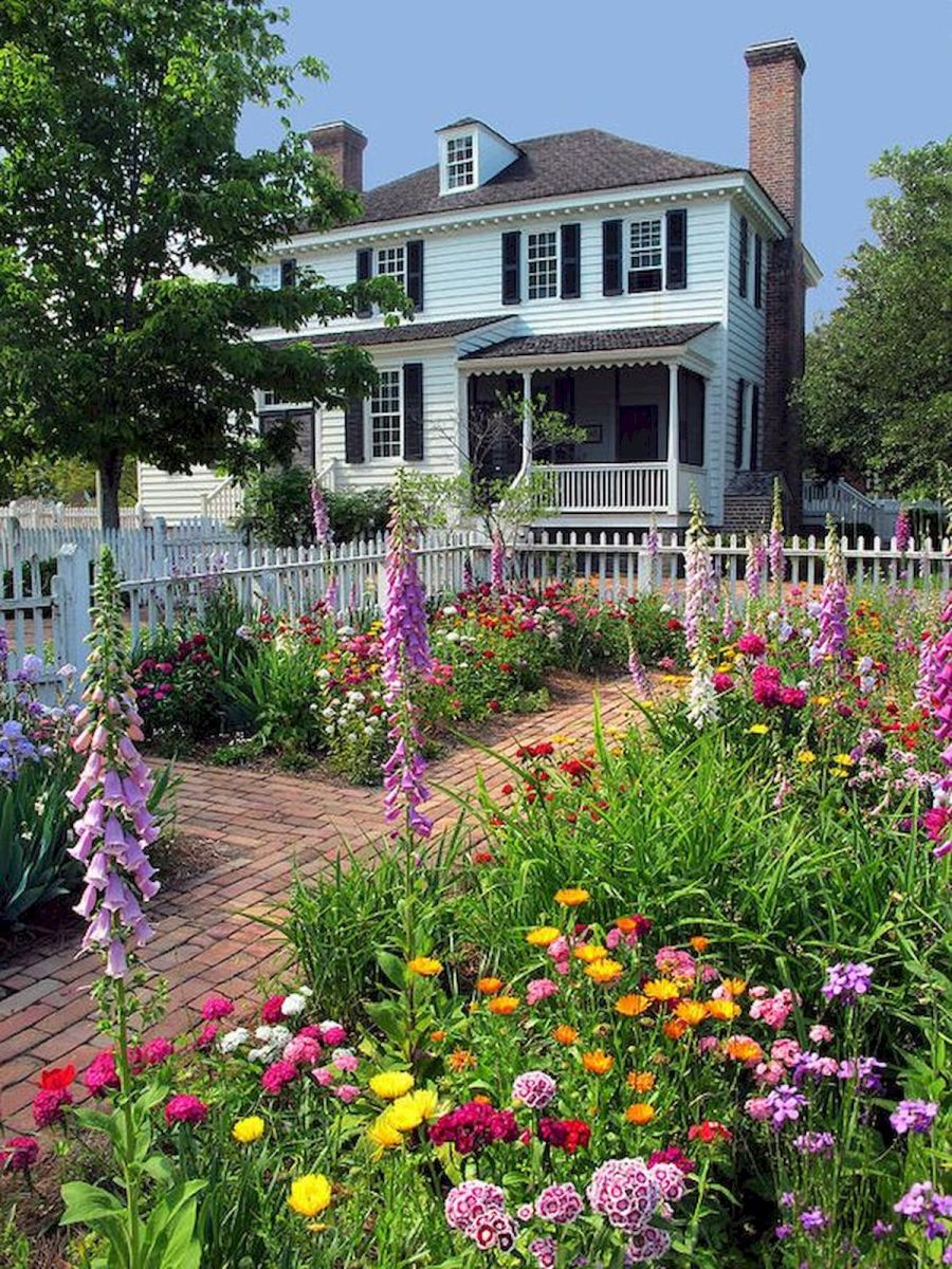 55 Beautiful Flower Garden Design Ideas (23)