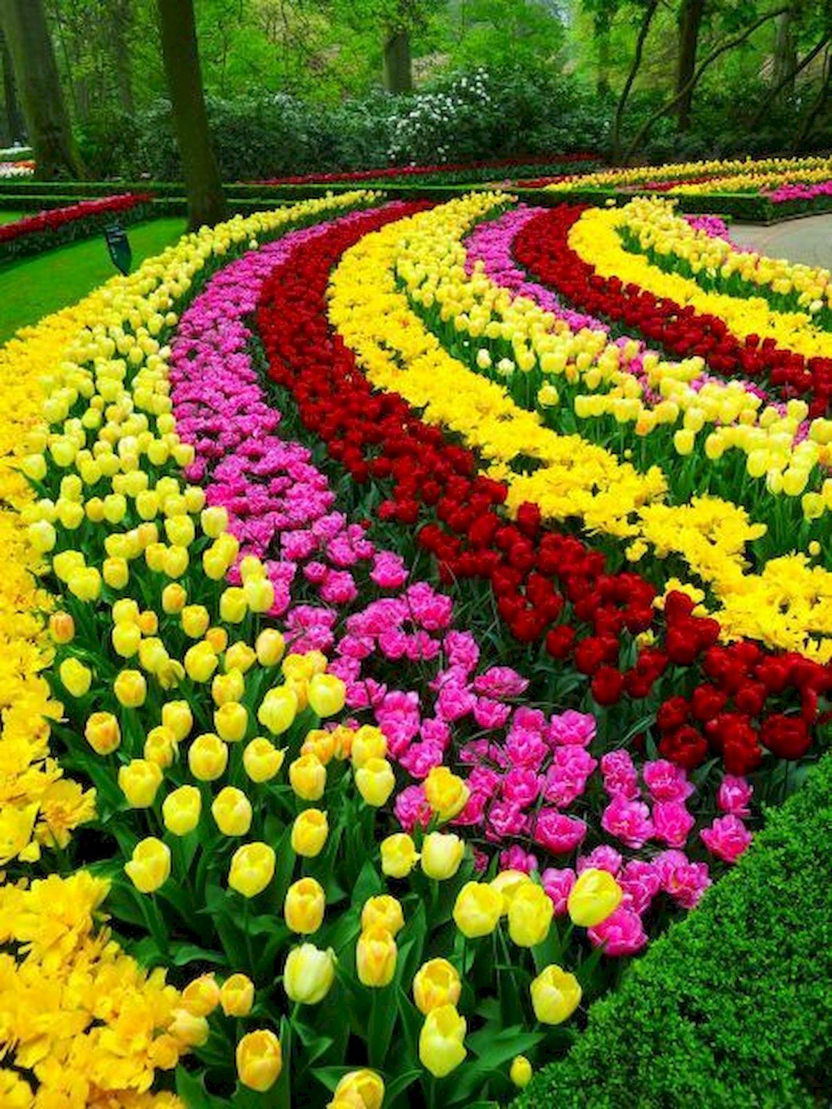 55 Beautiful Flower Garden Design Ideas (43)