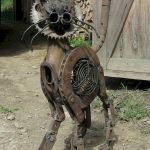 60 Unique DIY Garden Art From Junk Design Ideas (58)