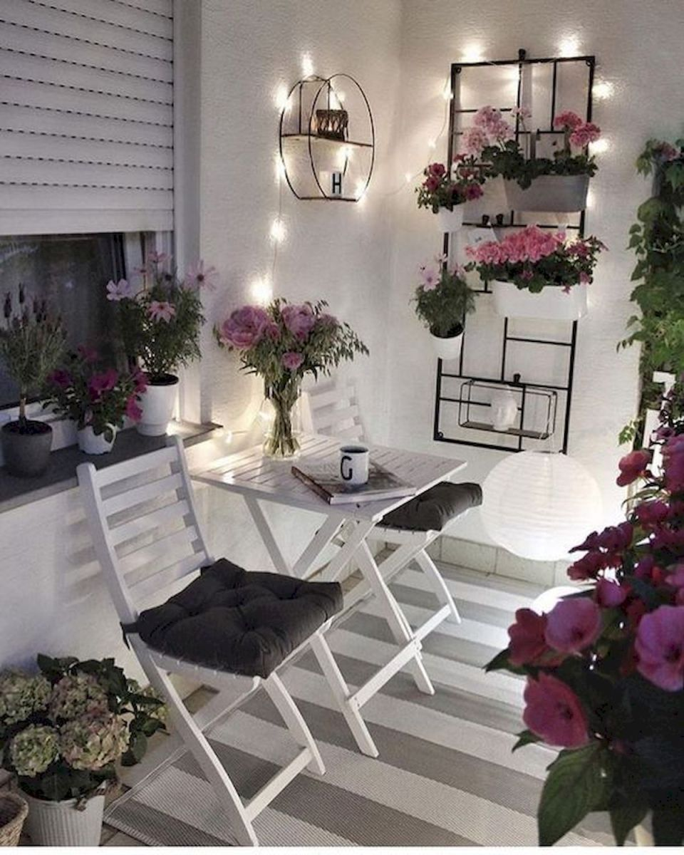 70 Awesome Small Garden Ideas for Apartment (35)