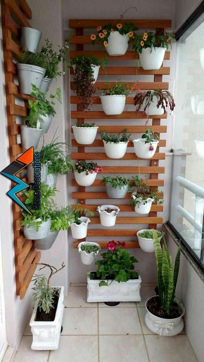 70 Awesome Small Garden Ideas for Apartment (48)