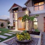 50 Modern Front Yard Design 23