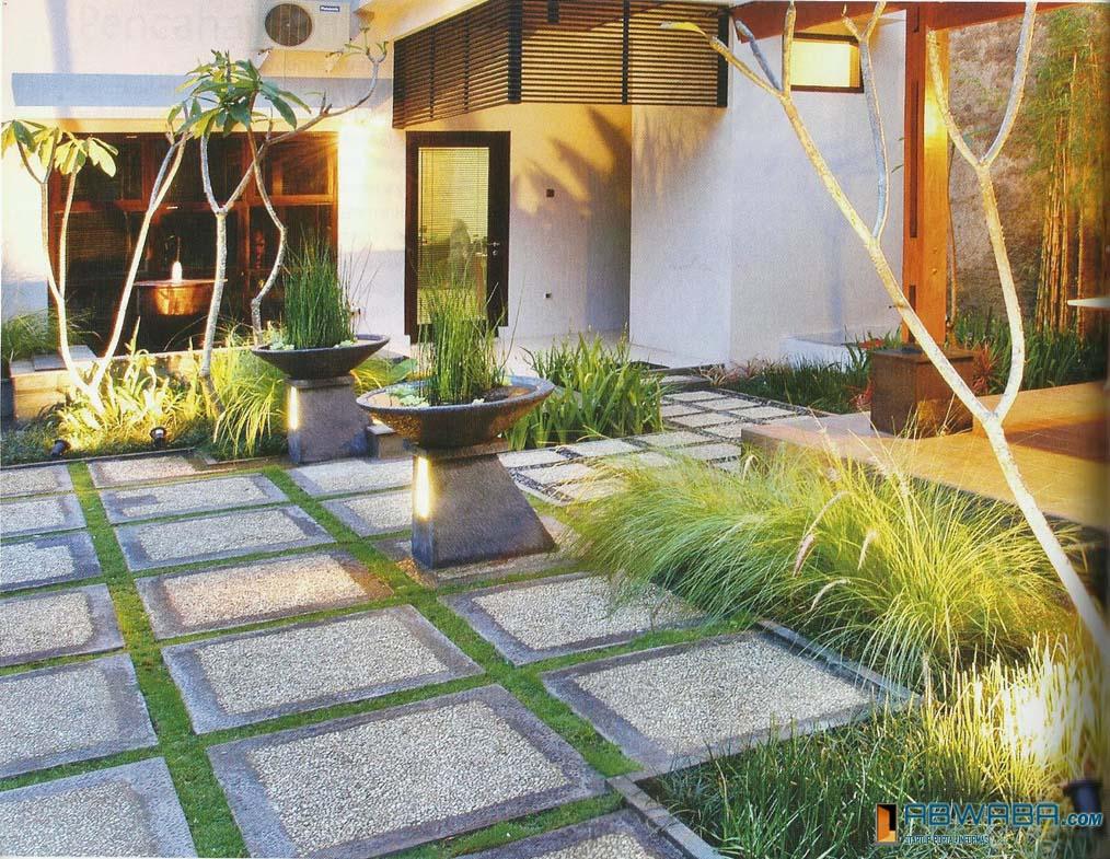 50 Modern Front Yard Design 48