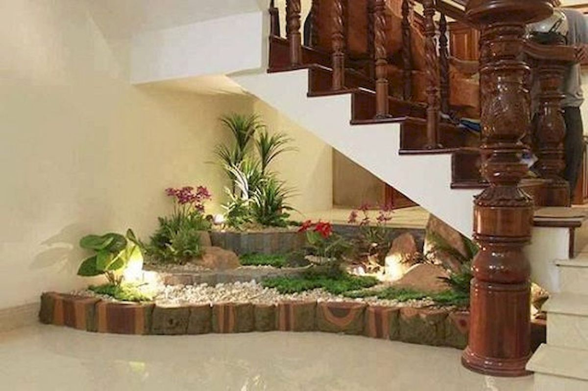 40 Awesome Indoor Garden Design Ideas That Look Beautiful (1)