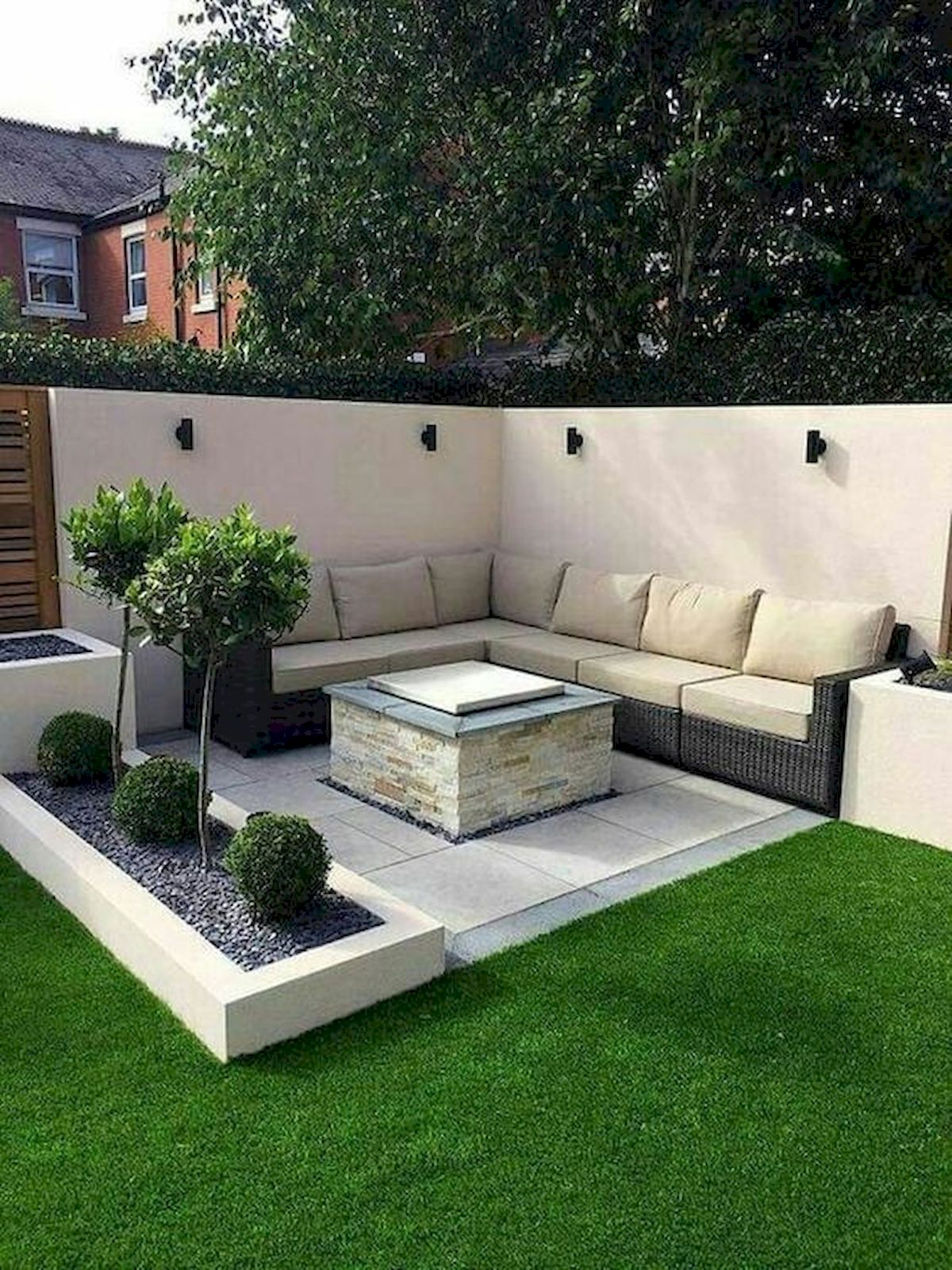 40 Fabulous Modern Garden Designs Ideas For Front Yard And
