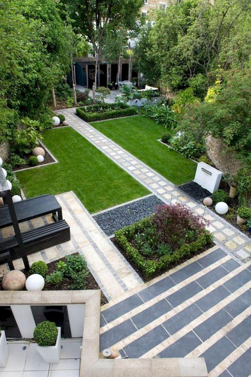 40 Fabulous Modern Garden Designs Ideas For Front Yard and Backyard (6)