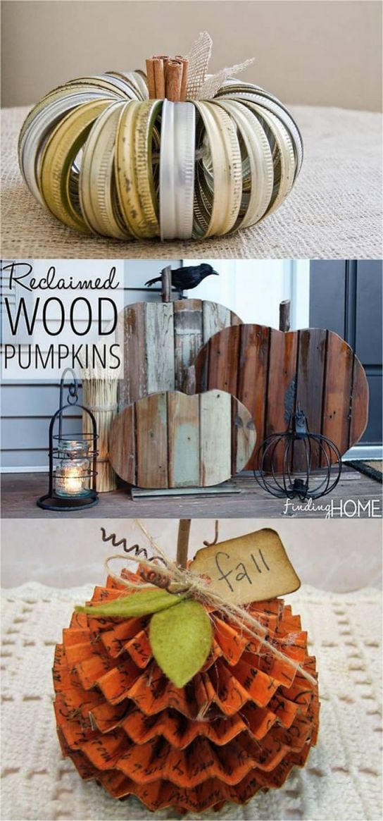 Wonderful pumpkin decorations for fall