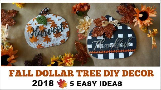 Fantastic fall decor ideas diy