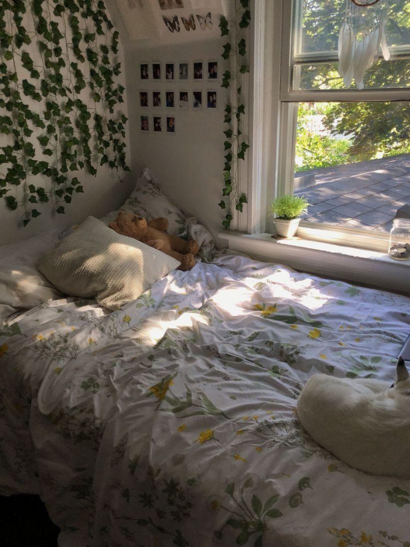 Beautiful Plant Aesthetic Bedroom