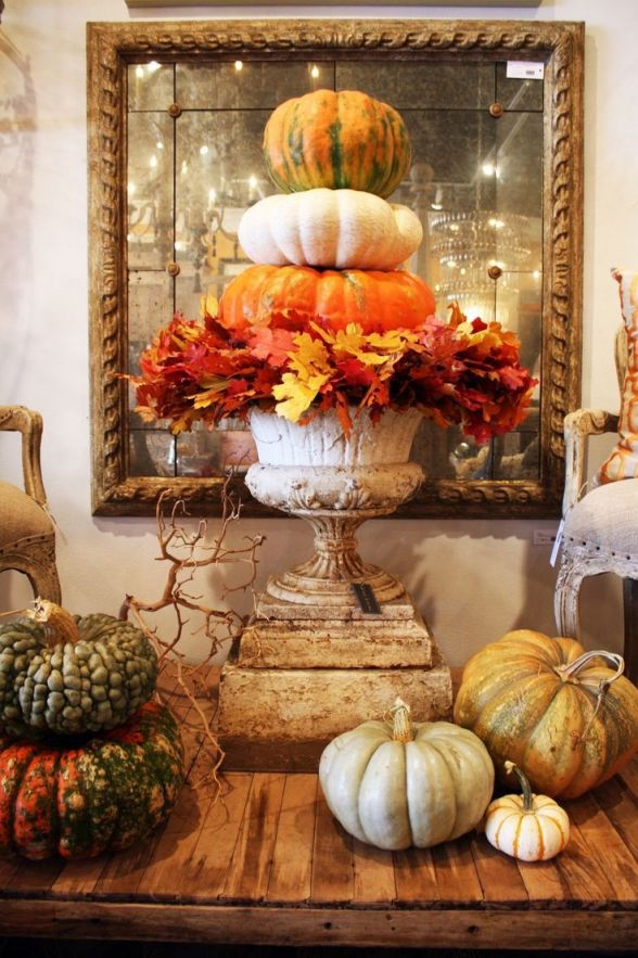 Adorable indoor fall decorations