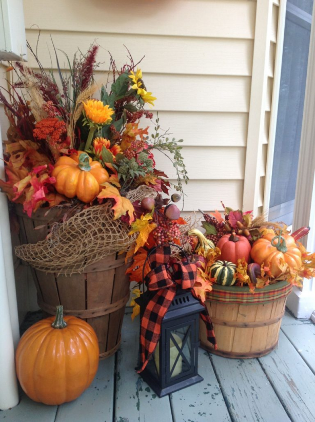 Gorgeous indoor fall decorations