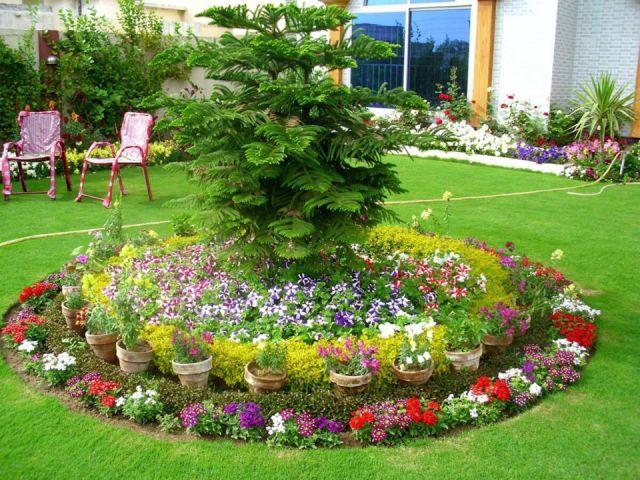 Top backyard flower garden ideas