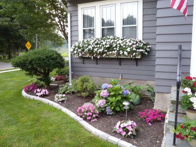Adorable Corner Garden Bed Ideas