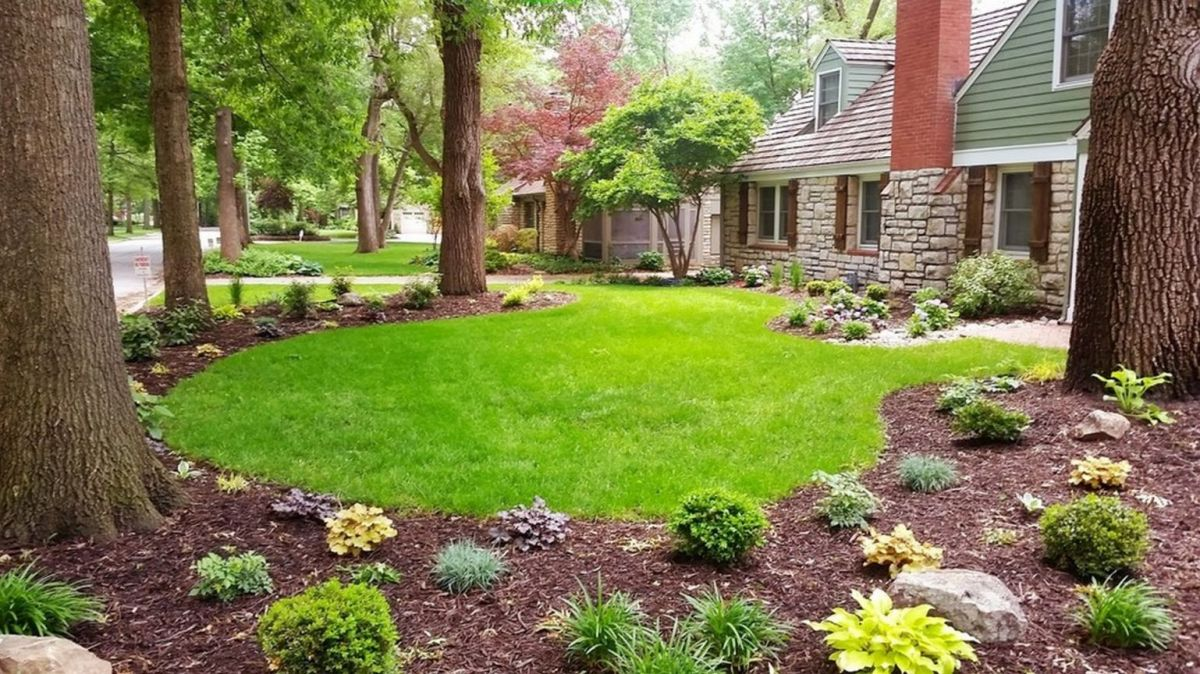 Awesome  front yard garden ideas
