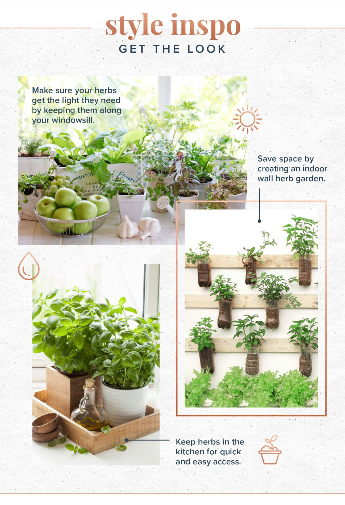 Amazing Indoor Herb Garden Ideas