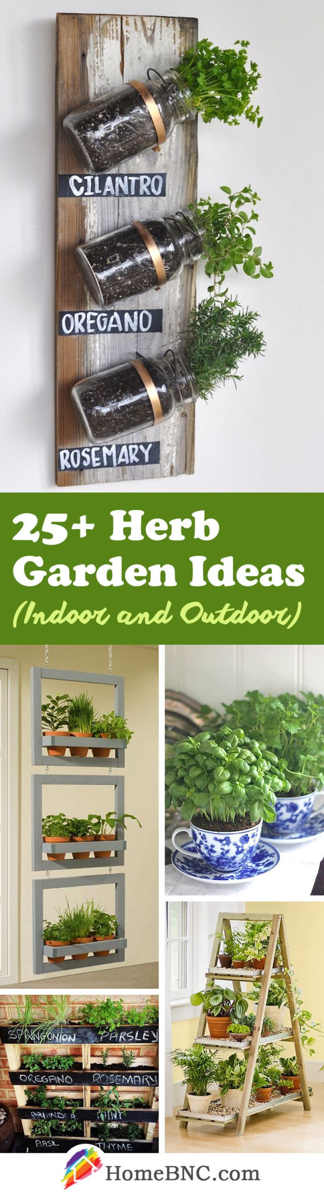 Awesome indoor herb garden ideas