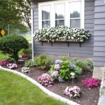 Awesome Flower Bed Designs For Front Of House