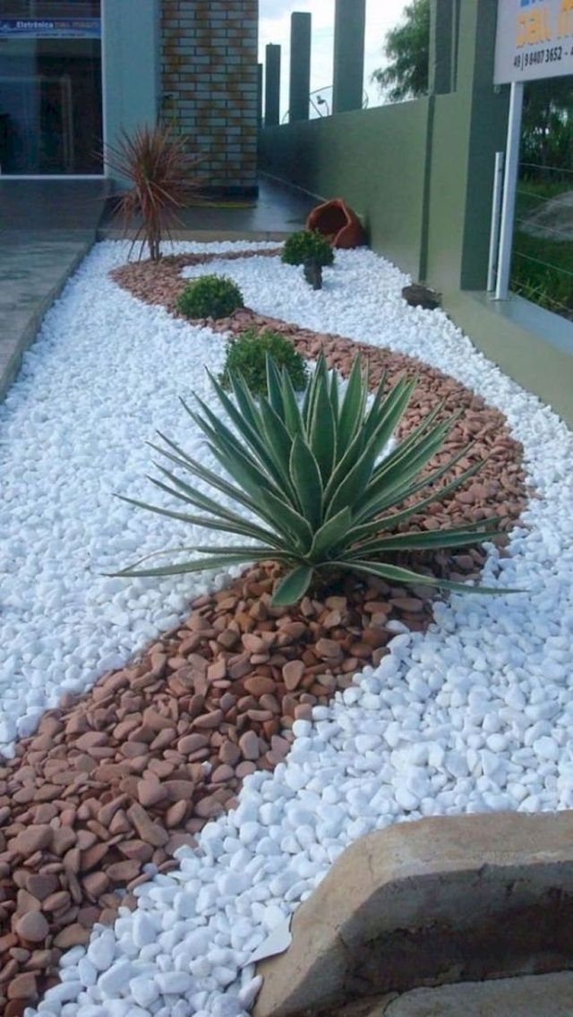 Beautiful front garden ideas with gravel