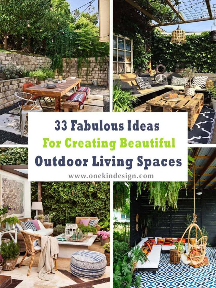 Beautiful Outdoor Living Spaces For Small Backyards