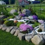 Beautiful Rock Garden Ideas For Front Yard