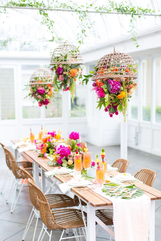 Cool Indoor Garden Party Ideas