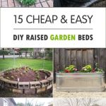 Cool Inexpensive Raised Garden Bed Ideas