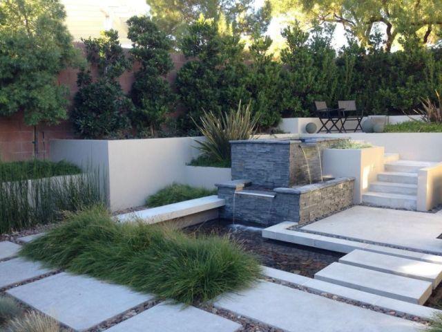 Gorgeous terraced backyard landscaping ideas