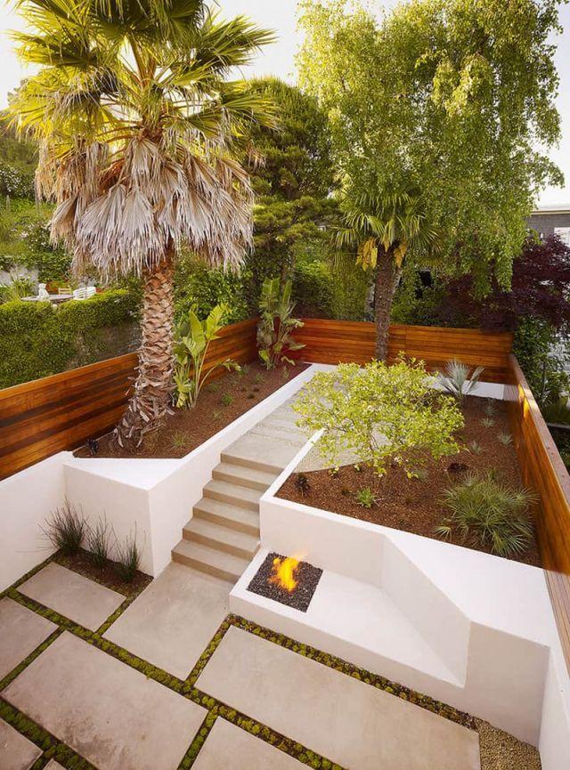 Adorable terraced backyard landscaping ideas