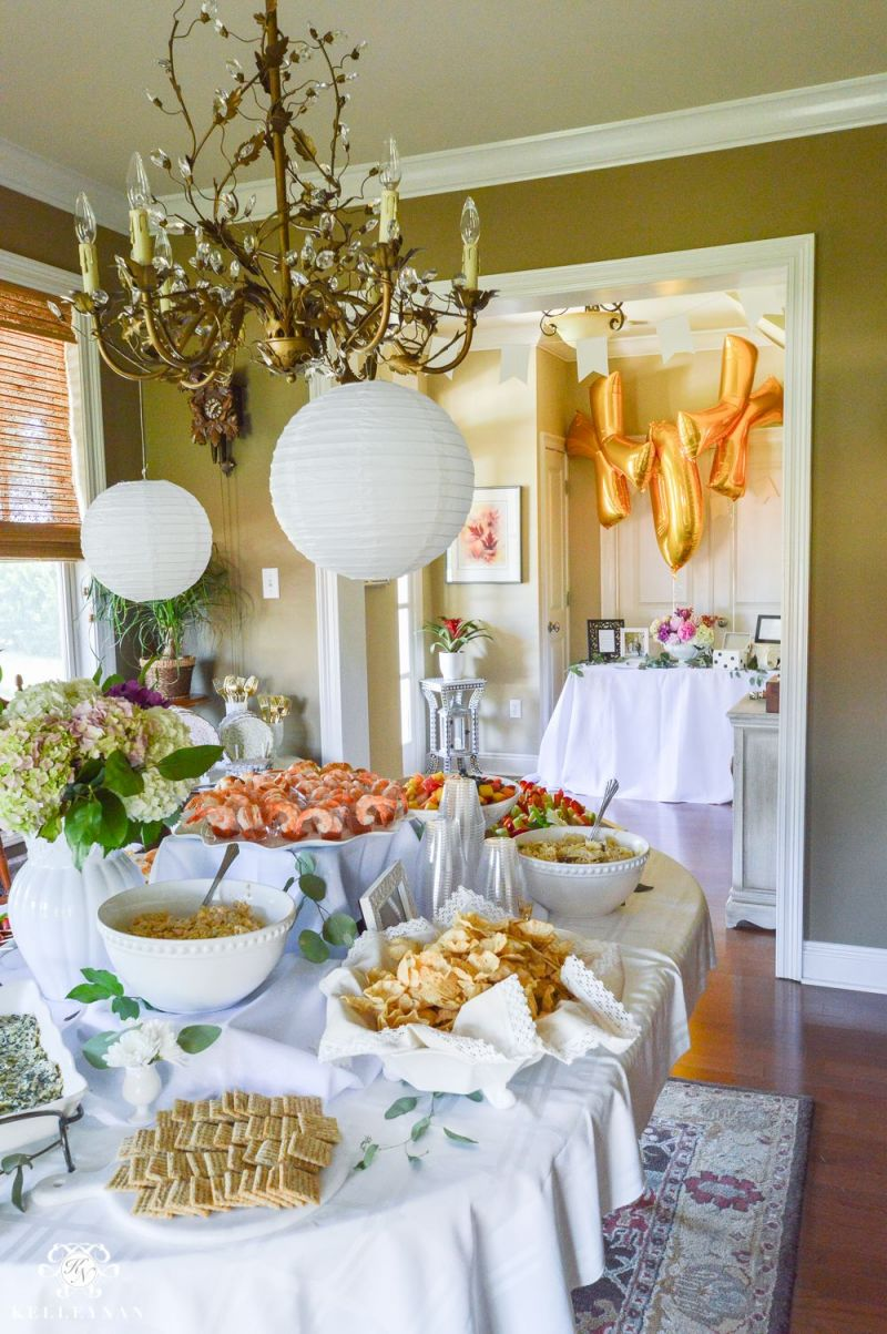 Gorgeous Indoor Garden Party Ideas