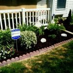 Nice Flower Bed Designs For Front Of House