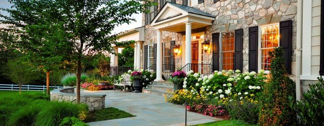 Amazing simple landscape ideas for front of house