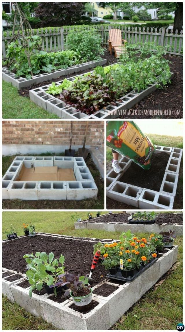Wonderful backyard garden ideas vegetables
