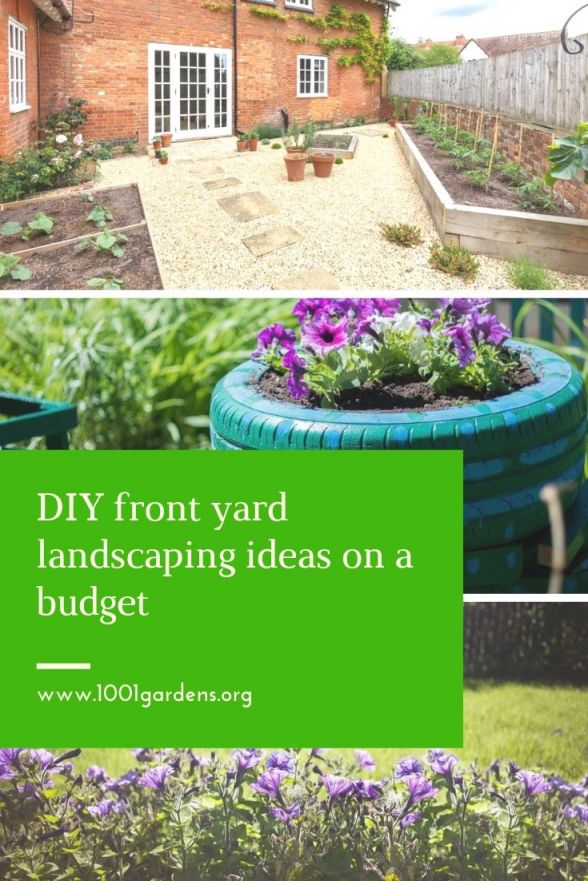 Beautiful front garden ideas on a budget