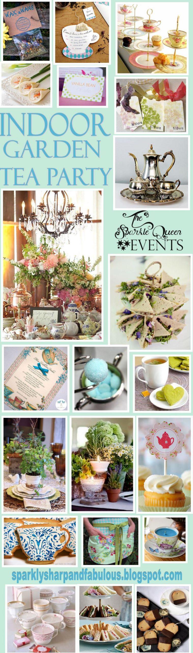 Wonderful Indoor Garden Party Ideas