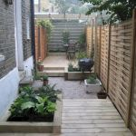 Awesome Narrow Backyard Ideas