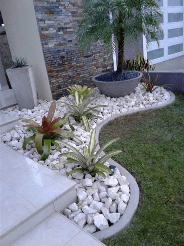 Adorable low maintenance front garden ideas