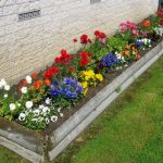 Top Small Flower Bed Ideas For Front Of House